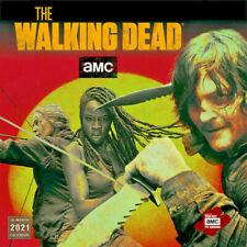 2021 The Walking Dead AMC Square Wall Calendar by Sellers Publication S10433
