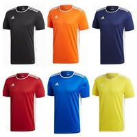 Adidas Mens Entrada 18 Climalite T Shirt Football Sports Jersey Top S M L XL