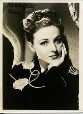 LARAINE DAY ACTRESS IN CALLING DR KILDARE & WAGON TRAIN SIGNED PHOTO AUTOGRAPH