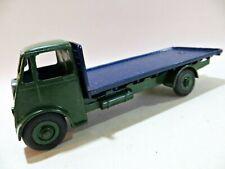 DINKY 432 / 512 'GUY FLAT-BED TRUCK'. GREEN/BLUE. SUIT RESTORATION / RESTORED.