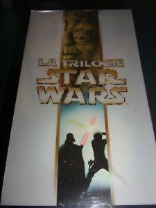 RARE  VHS NEUF SOUS BLISTER !!  COFFRET TRILOGIE STAR WARS   MASTER DIGITAL THX