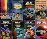 1979-2002 Star Trek TOS Pocket Paperback Book Collection-Your Choice of 97