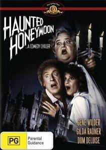 Haunted Honeymoon DVD Gene Wilder 1986 Movie Gilda Radner - AUST PAL REGION