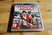 Jeu ESCAPE DEAD ISLAND NEUF pour PS3 Playstation 3 VF