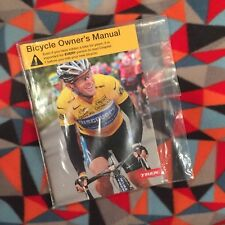 New Trek Bicycle Corp Bike Owners Manual w/ Cd Mint In Bag 2007 Lance Armstrong