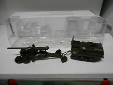 M4 HIGH SPEED TRACTOR + 155 MM M1 LONG TOM US ARMY COMBAT TANKS DeAGOSTINI 1:72