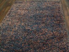 nr 31 Handgefertigter Hochflor Langflor Shaggy Teppich Wolle ca 234 x 146 cm Neu