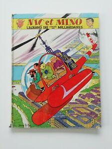 BD EO Nic et Mino Le grand Ixe contre les milliardaires 1964