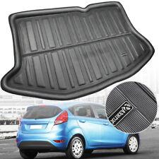 Fit For Ford Fiesta Hatchback 09-17 Boot Liner Rear Trunk Mat Cargo Floor Carpet
