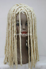 Fashion Dreadlock Style Wigs Long Curls Rolls Hair Drama Cosplay Party Wig