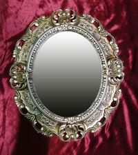 Specchi ovale oro per la decorazione della casa