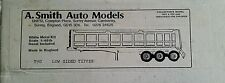 A.Smith Auto Models Low Sided Tipper White Metal Kit 1/48th Scale