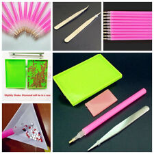 Tools 5D Painting Diamond Stitch Pen+Glue+Tray+Tweezers for Rhinestone Decor Kit