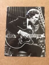 1970 photo Chet Atkins playing on Evning at pops ,  gretsch super chet guitar,