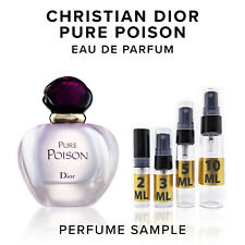 Christian Dior Pure Poison EDP Perfume Sample Vial Travel Size Purse Spray Mini