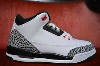 Youth/Women's Nike Air Jordan Retro 3 III 398614-123 Size 6.5 Y infrared Cement