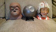 STAR WARS Death Star w/ Darth Vader, Luke Skywalker & Chewbacca Micromachines
