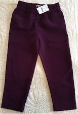 J.Crew Crewcuts Girls Crepe Pull-on Pant Size 5 Style C9445 $59.50 Purple