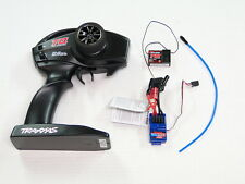 **NEW TRAXXAS TQ 2.4ghz 2 Channel Radio System & Receiver +ESC 1/16 E-REVO RE