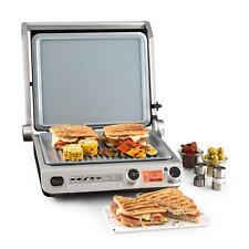 Kontaktgrill Tisch Sandwich Toaster Elektrogrill Paninimaker Edelstahl 2000 Watt