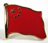China Flaggen Pin Anstecker,1,5 cm,Neu mit Druckverschluss