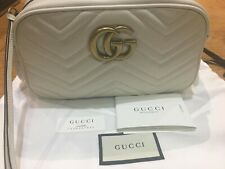 GUCCI GG Marmont Camera small quilted leather shoulder bag RRP£885
