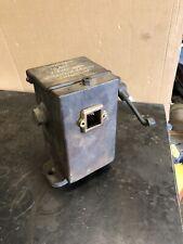 Antique Cast Iron Ratchet Hart Mechanical Lubricator Oiler Hit Miss Steam