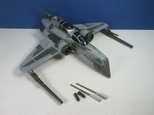 COMPLETE star wars ARC-170 STAR FIGHTER VEHICLE clones wars ROTS HASBRO 4660