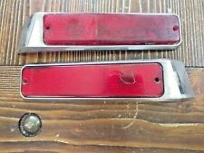 84 85 86 87 88 89 90 91 Jeep Grand Wagoneer Left & Right Side Marker Light red