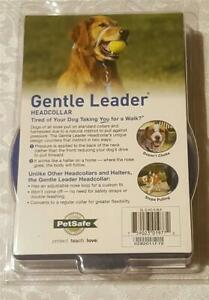 Gentle Leader Dog Head Collar - Small - BLACK NYLON - BRAND NEW IN PACKAGE