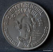 PORTUGAL 100 ESCUDOS NEUF Jacob Rodrigue Pereire sourd  juif portugais1715 AB13