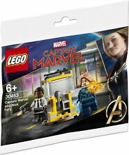 Lego 30453 Super Heroes Capitán Marvel and Nick Fury polybag 2020 Minifigures