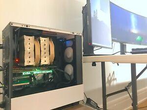 CUSTOM PROFESSIONAL Video Editing Gaming Workstation PC 2080ti 2TB SSD 64GB RAM