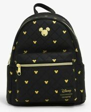 Loungefly Disney Mickey Mouse quilted mini backpack bag official licensed