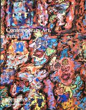 Sothebys Auction Catalog Important CONTEMPORARY ART Part 1 5/1997