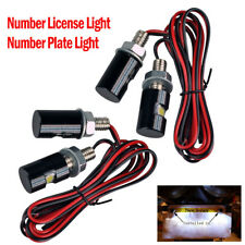 (4) LED Motorcycle, Car License Plate Screw Blot Light - Number License Light
