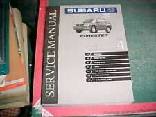 1999 SUBARU FORESTER MECHANICAL COMPONENTS SECTION 4 PRINT SERVICE MANUAL xlnt