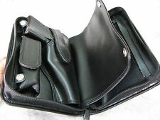 New Black PVC Walther PP, Star SA 7.65 mm .32 ACP Pistol Case & Magazine Storage