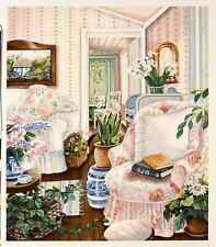 """Susan Rios - """"To Cultivate a Friendship"""", hand-signed serigraph on paper"""