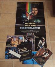 Soundtrack: Michael Jackson - Moonwalker RARE Kinoposter und Haushangfotos Werbe