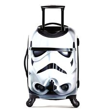 STAR WARS Hardsided SPINNER SUITCASE Storm Trooper Carry On Upright Luggage NEW