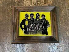 """Vintage The Who Carnival Mirror 1980's 13.5"""" x 11.5"""""""