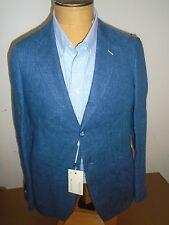 Gant Rugger 100% Linen 3 Button Dark Blue Sport Coat NWT 40 Regular $795