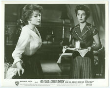 ANNE BAXTER, FAITH BROOK original movie photo 1958 CHASE A CROOKED SHADOW