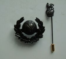Royal Marines Commando Officers Bronze Beret/Cap Badge