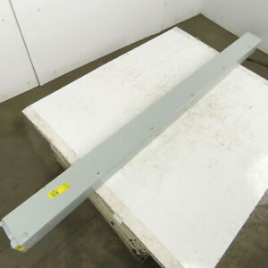 """Hoffman 4"""" x 4"""" Wire Way Auxiliary Gutter Trough Hinged Top Lay In 67"""""""