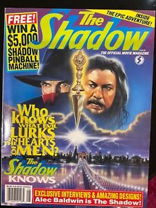 THE SHADOW THE OFFICIAL MOVIE MAGAZINE
