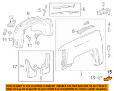 GM OEM-Fender Liner Brace Right 23240604