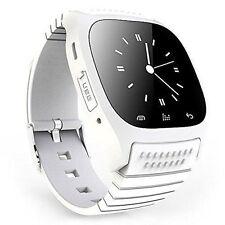 Bluetooth Smart Watch M26 Music Player Pedometer Brand New (White ) /Free Gift