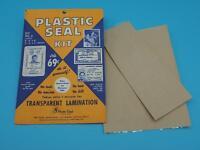 Vintage Photo Seal Plastic Seal Kit Advertising Envelope